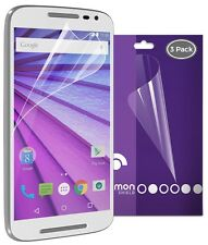Fosmon 3 Matte Anti Glare Screen Protector Film For Motorola Moto G 3rd Gen 2015