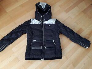 Toni sailer Skijacke schwarz/silber NP 299€ Gr.38/40