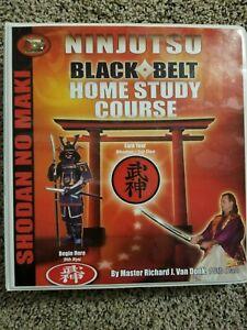 Ninjutsu - White Belt to Black Belt Home Study Course