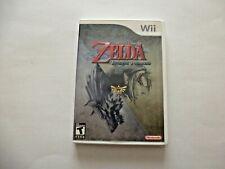Nintendo Wii The Legend of Zelda: Twilight Princess Video Game 2006