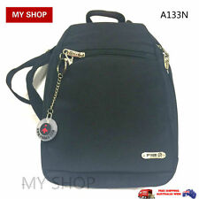 FIB Anti-Theft Small backpack with RFID Blocking Cut Proof Strap $99.95--A133N