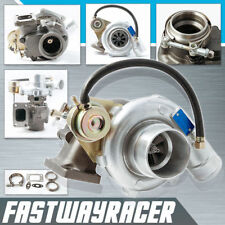 Universal T3 Flange 2.5'' V-band Clamp Flange .63AR Turbo Charger + 2.5'' Clamp