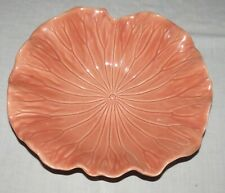 Metlox Poppytrail Lotus Peach Apricot 15 x 14 in Large Salad Serving Bowl AS IS
