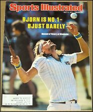 7/11/1977 Sports Illustrated Bjorn Borg Wimbledon Frank Tanana Dave Winfield