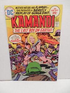 Kamandi Last Boy On Earth DC Bronze Age Comic Book #27 Jack Kirby Art