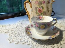 COLCLOUGH CHINA BONE CHINA CUP AND SAUCER