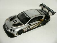 Scalextric - Bentley Continental GT3 Silver #100 - NEW/Damaged