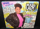 BIG LADY K Ffun (Factory Sealed 1989 U.S. 4 Track Picture Cover Promo 12inch)