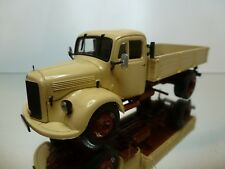 MINICHAMPS MERCEDES-BENZ L3500 TRUCK - BEIGE 1:43 -EXCELLENT - 22