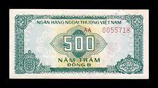 B-D-M Vietnam 500 Dong Bank for Foreign 1987 Pick FX5 SC- aUNC