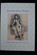 JOHN BUCKLAND WRIGHT SENSUOUS NUDE  DRAWINGS ENGRAVINGS EXHIBITION CATALOGUE