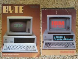 IBM PERSONAL COMPUTER book & BYTE magazine PC reprint, 1982, Paperbacks