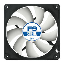 ARCTIC Cooling F9 Silent Case Fan 92 mm 1000 Rpm, 21.2 CFM el flujo de aire