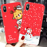 Cute Christmas Doll Soft Gel Phone Case Cover For iPhone 11 Pro Max XS Max XR X