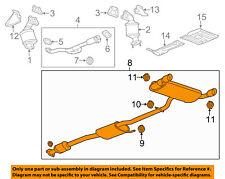 Chevrolet GM OEM 2012 Captiva Sport 3.0L-V6-Muffler 22878825