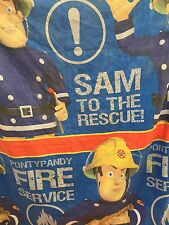 FIREMAN SAM REVERSIBLE SINGLE QUILT COVER DUVET & PILLOW CASE SAM TO THE RESCUE