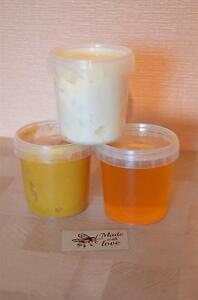 3 Types of Honey - Lime 200 gr, Wild 200 gr and Flower 200 gr Perfect Gift