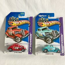 2013 Hot Wheels Showroom 34 Ford 3-Window American Turbo KMart Exclusive