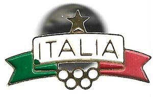 Italy NOC Olympic Pin Rings Italia Small
