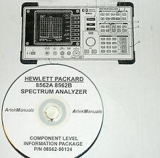 Hp Component Level Information Packet Schematics 8562a 8562b Spectrum Analyzer
