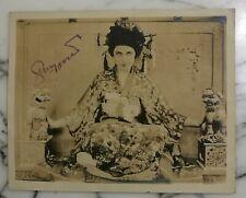 ART DECO GERALDINE FARRAR MUSIC OPERA MOVIE SIGNED PHOTO MADAMA BUTERFLY ORIGIN