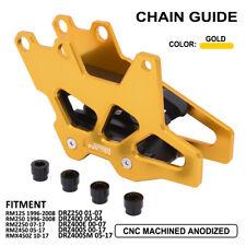 Chain Guard Guide For Suzuki RM125 RMZ450 RMX450Z DRZ400E DRZ400SM Dirt Bike