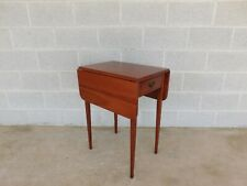SUTERS Cherry Hepplewhite Style Pembroke Table