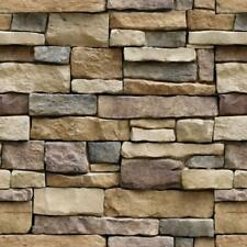Yancorp Stone Wallpaper Rock Self-Adhesive Contact Paper Peel and Stick Backs.