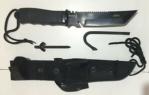 ARGENTINE YARARA BRAND SPECIAL GROUP 1 ORIGINAL FEDERAL POLICE ISSUE TANTO KNIFE