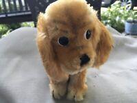Vintage STEIFF Mohair Minature Susi Cocker Spaniel Puppy Dog EC Free Shipping 2U
