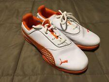 Women's Puma Golf Shoes~Sz 6~ECO Ortholife~Ever Foam~Orange White~EUC