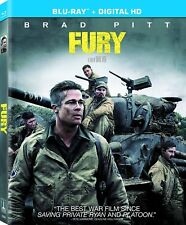 Fury Blu-ray Only Disc Please Read