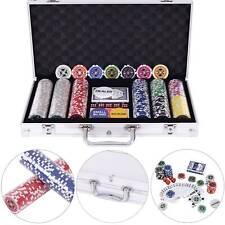 Pokerkoffer Pokerset mit 300 Standard Pokerchips Poker Chips im Alu Koffer
