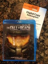 Halo The Fall of Reach (Blu-ray,Digital Copy,2015)Authentic US Release