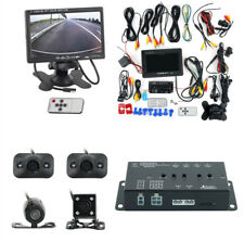 New 360° Car DVR Dash Kit 4 Cameras + Screen Splitter + 7inch Monitor w/ Remote
