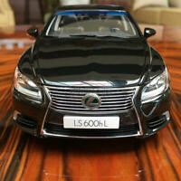 AUTOart 1/18 Lexus LS600 LS600HL diecast open close car model Gloss black 78842