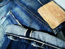 *HOT LVC 1955 Men's LEVI'S 501XX STRAIGHT BIG E REDLINE Jeans 34x36 (Fit 30 x33)