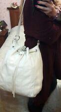 Borsa donna Tosca blu interamente in pelle con tracolla regolabile ghiaccio bag