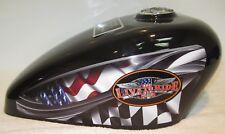 310 black Live to Ride Adult Cremation Motorcycle Gas Tank Biker Urn