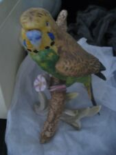 Goebel Western Germany Colorful Painted Parrot Figurine 1972