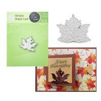 Maple Leaf Metal Die Cut  Whittle Poppystamps Cutting Dies Autumn Leaves 2136