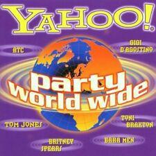 Yahoo!-Party World wide (2001, BMG) Tom Jones & Mousse T., Britney Spea.. [2 CD]