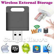 Wireless Wifi Card Reader Extended Mobile Storage For iPhone iPad Android Phones