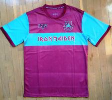 Camiseta West Ham Iron Maiden talla L nueva