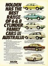 1985 VK Holden Commodore Sales Brochure