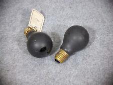WW2 / WW II - Bunkerbirne / Luftschutzbirne / Luftschutzlampe / Luftschutzbirne