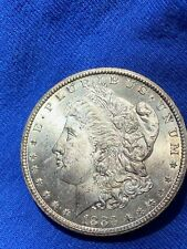 1883 CC MORGAN DOLLAR MS UNCIRCULATED ++ MINT LUSTER COIN CARSON CITY no reserve
