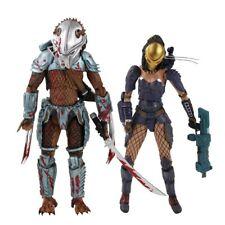 Alien vs Predator AVP Machiko Noguchi Hornhead Predator Action Figure Toys PVC