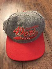 Vintage San Francisco 49ers Starter Script Snapback Hat Cap Wool Vtg