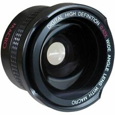 Pro HD 0.42x Fisheye Lens with Macro for Sony HDR-CX580 HDR-PJ580